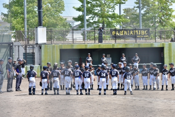 射水市学童野球新人大会