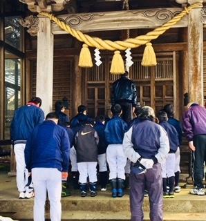日宮神社へ参拝・安全祈願