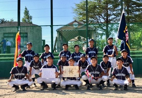 射水市少年野球大会 優勝!