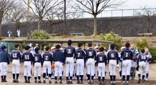 3月10日(土)第26回万葉旗ジュニア野球大会