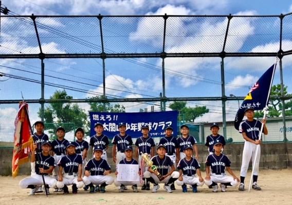 小杉区域少年野球大会Aチーム 優勝